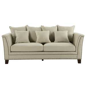 Manhattan 3 Seat Sofa Beige
