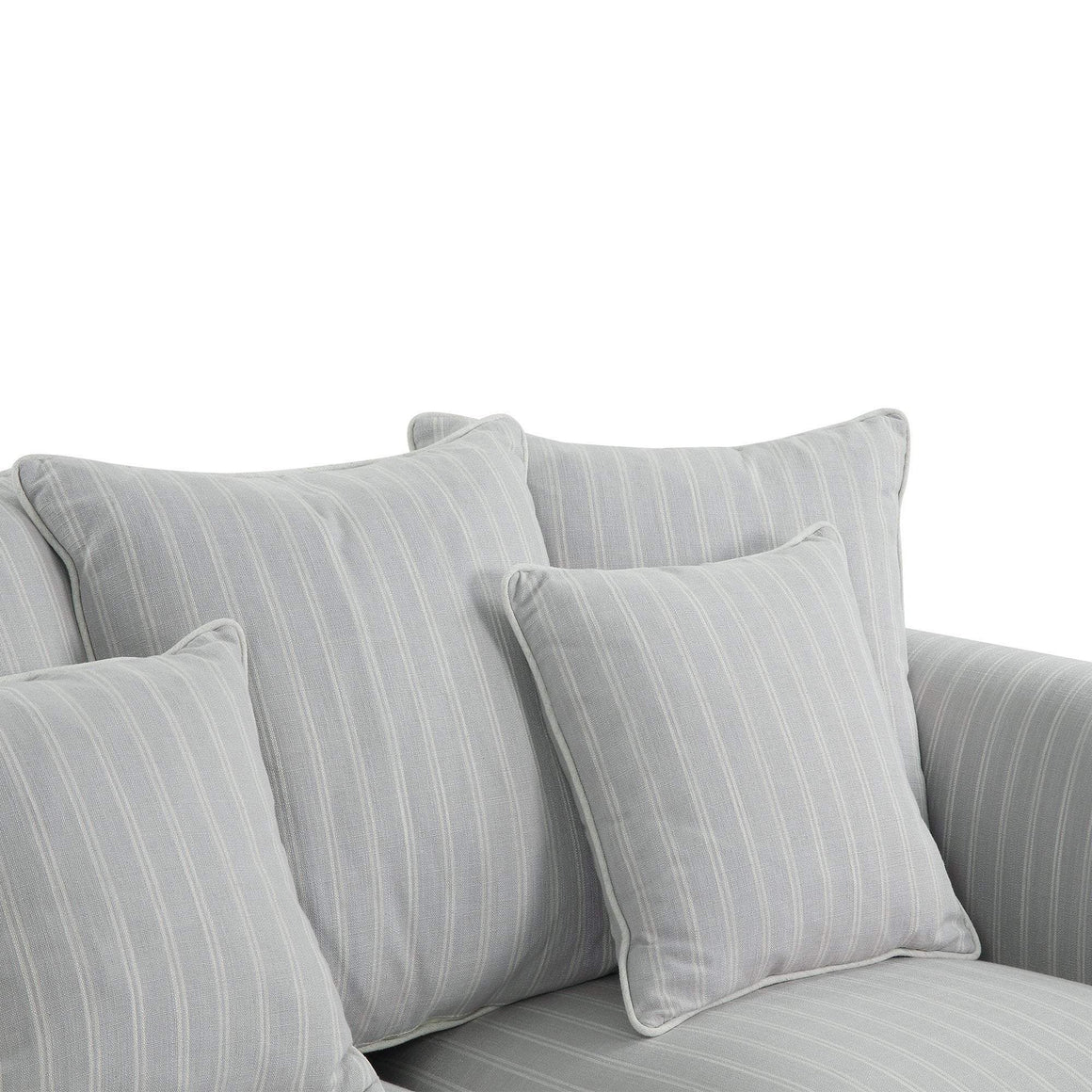 AVALON CLOUD STRIPE 3 SEAT SOFA COVER