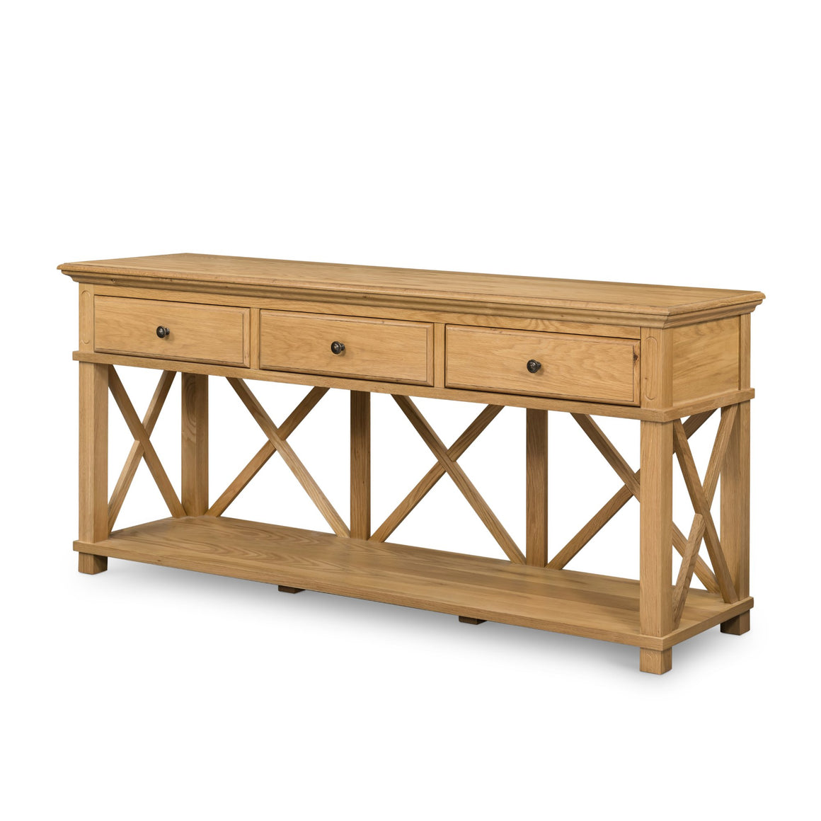 SORRENTO NAT 3 DRAWER CONSOLE