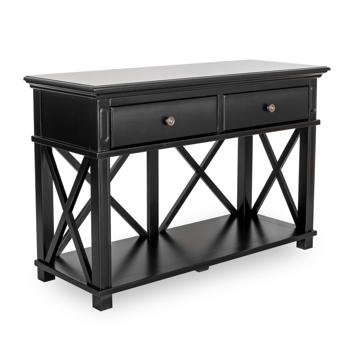SORRENTO 2 DRAW BLACK CONSOLE