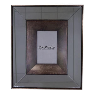 MIRRORED PHOTO FRAME 8X10