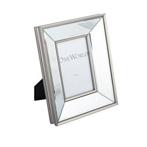 CLASSIC MIRRORED PHOTO FRAME 4X6