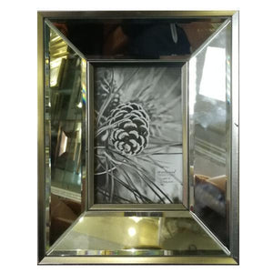 CLASSIC MIRRORED PHOTO FRAME 8X10