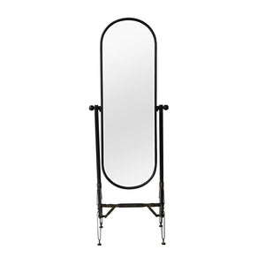 Sienna Oval Mirror On Stand