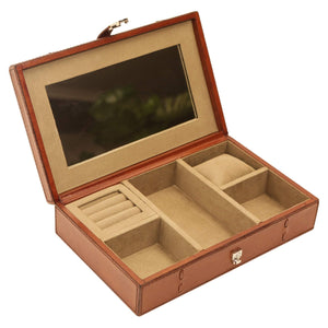 Winston Leather Jewellery Box