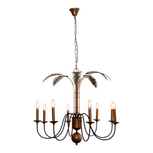 PALM LEAVES CHANDELIER