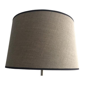 Drum 46Cm/18In Nat Linen W/Blk Trim