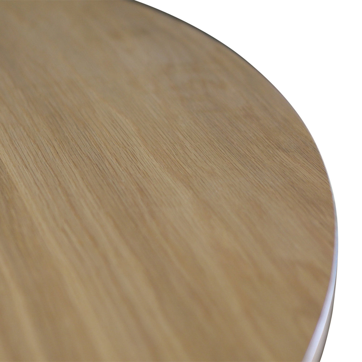 OSLO OAK 1M ROUND DINING TABLE/DESK