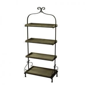 Iron Stand With Shelves