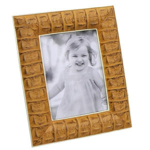 FAUX LEATHER PHOTO FRAME 5X7
