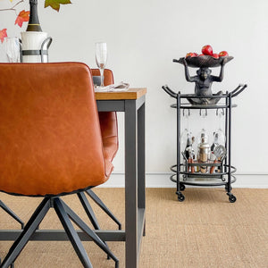 Sitting Monkey Statue With Leaf On Head