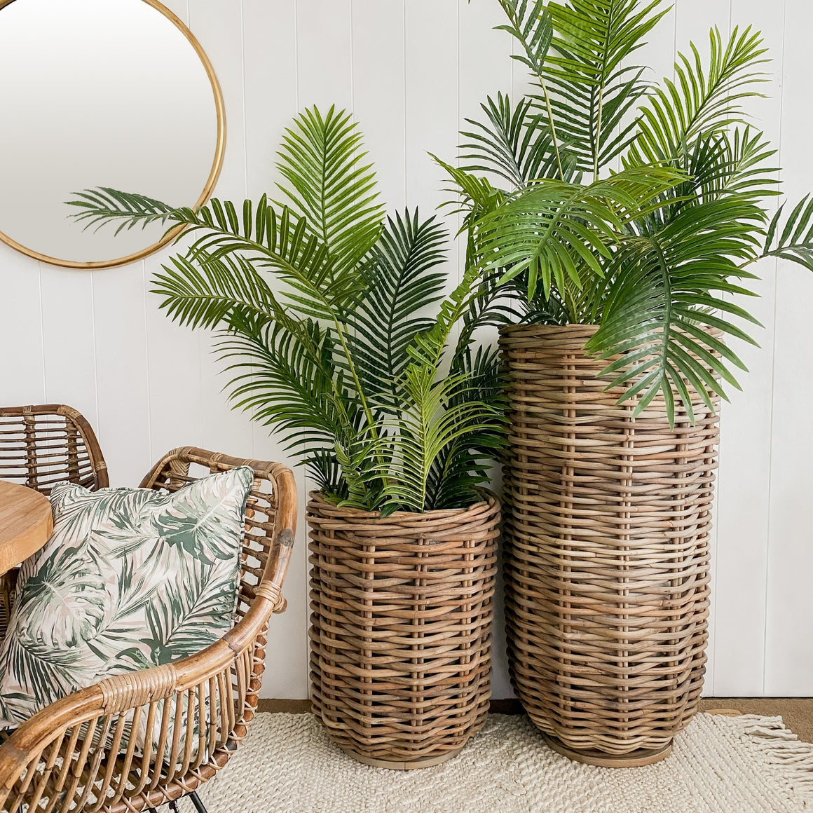 Cabo Rattan Planter / Basket Small
