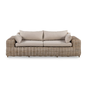 CANNES OUTDOOR WICKER 3 SEAT SOFA