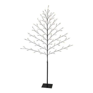Christmas Tree Black 150/59 W/96 Led'S