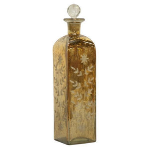 TALL GOLD LUSTER PERFUME BOTTLE