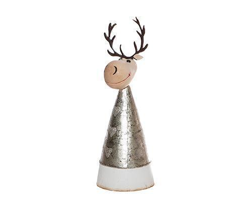 Medium Metal Cone Reindeer
