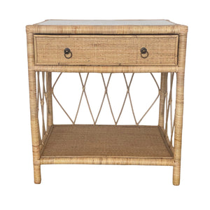 Wategos Natural Rattan Side Table / Console