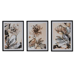 Annecy Floral Wall Art Set of Three