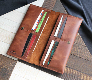(NEW) Double Phone Long Wallet