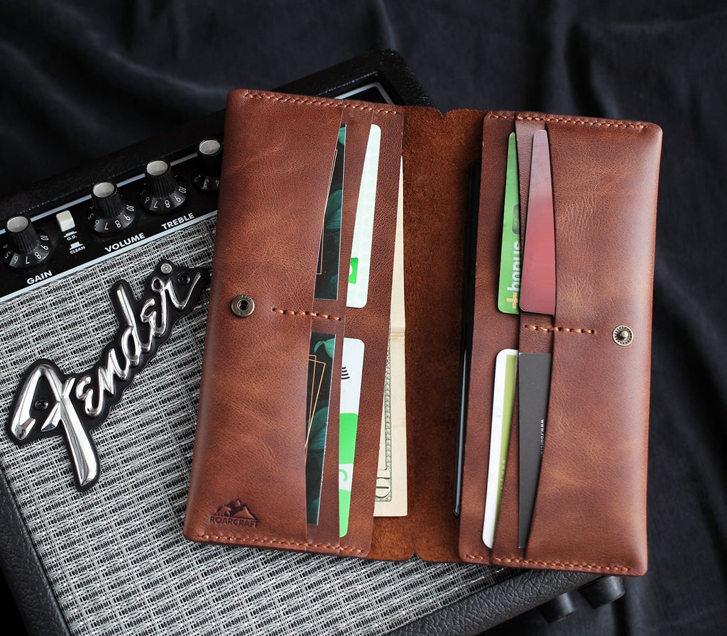 Double Phone Long Wallet