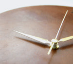 Leather Wall Clock - Letoon Cognac by Roarcraft