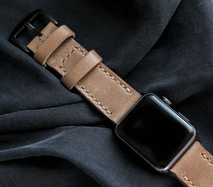 (NEW) Custom Made Apple Watch Strap - Mink