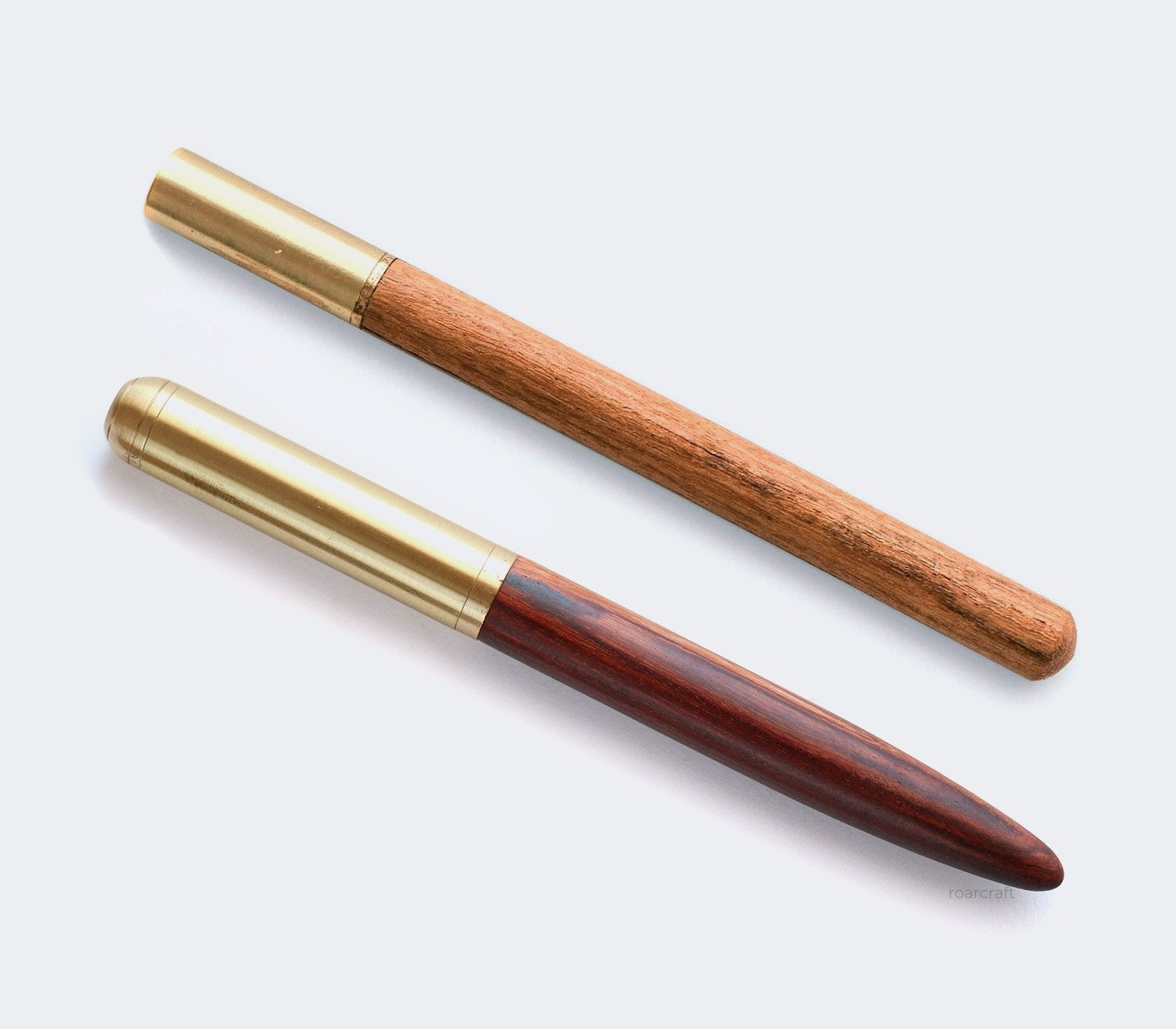 (NEW) Wood & Brass Gel Pen