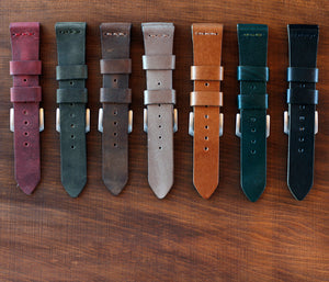 Apple Watch Leather Strap - Cognac by Roarcraft