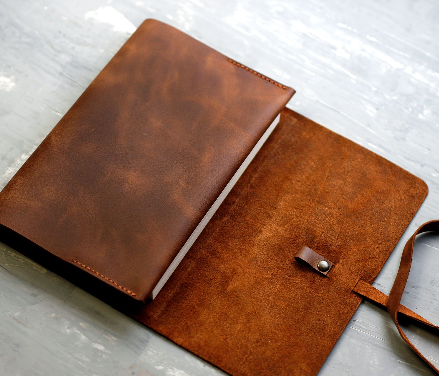 Handmade Leather Book Cover