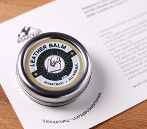 All Natural Leather Balm