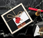 Wax Sealed Wooden Gift Box - Small