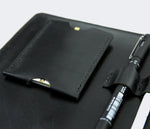 Leather Macbook Organizer - Black by Roarcraft