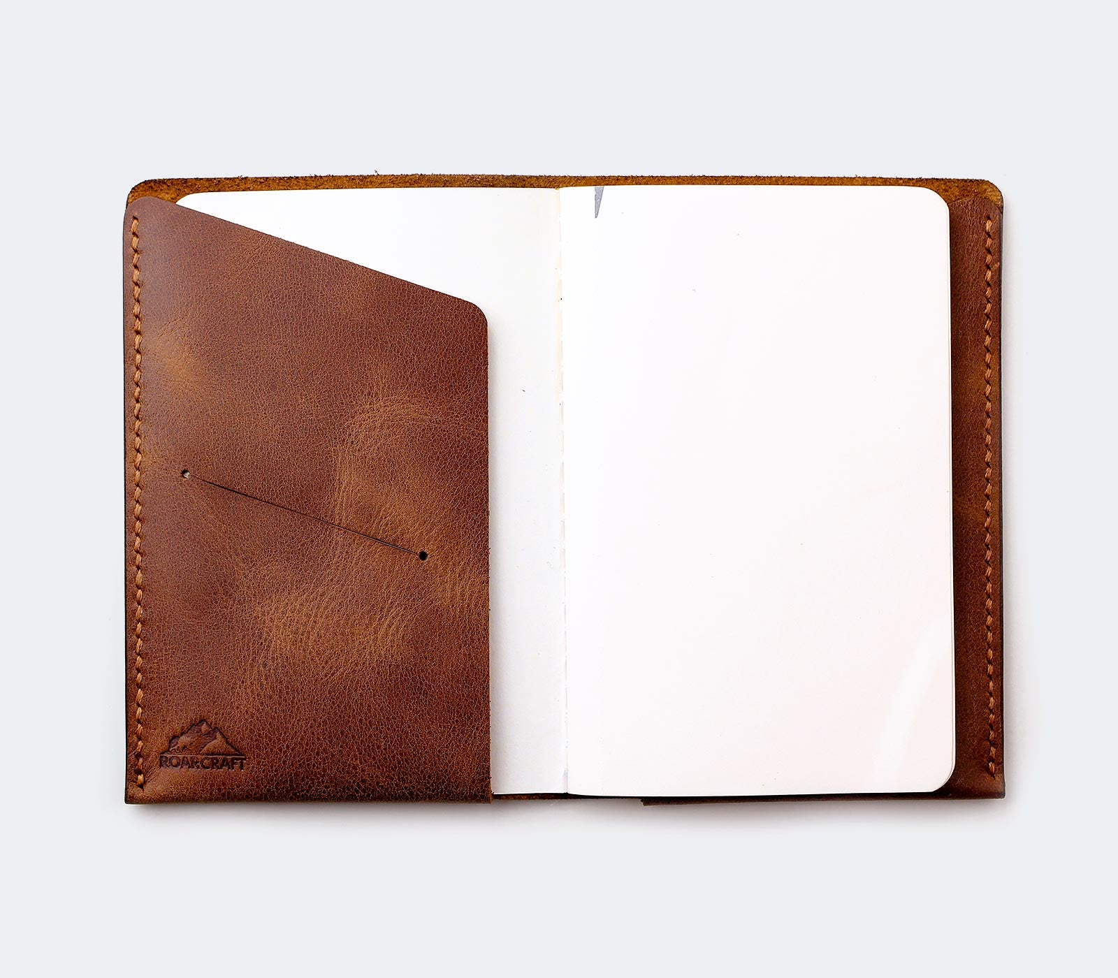 Leather Notebook Cover - Arinna