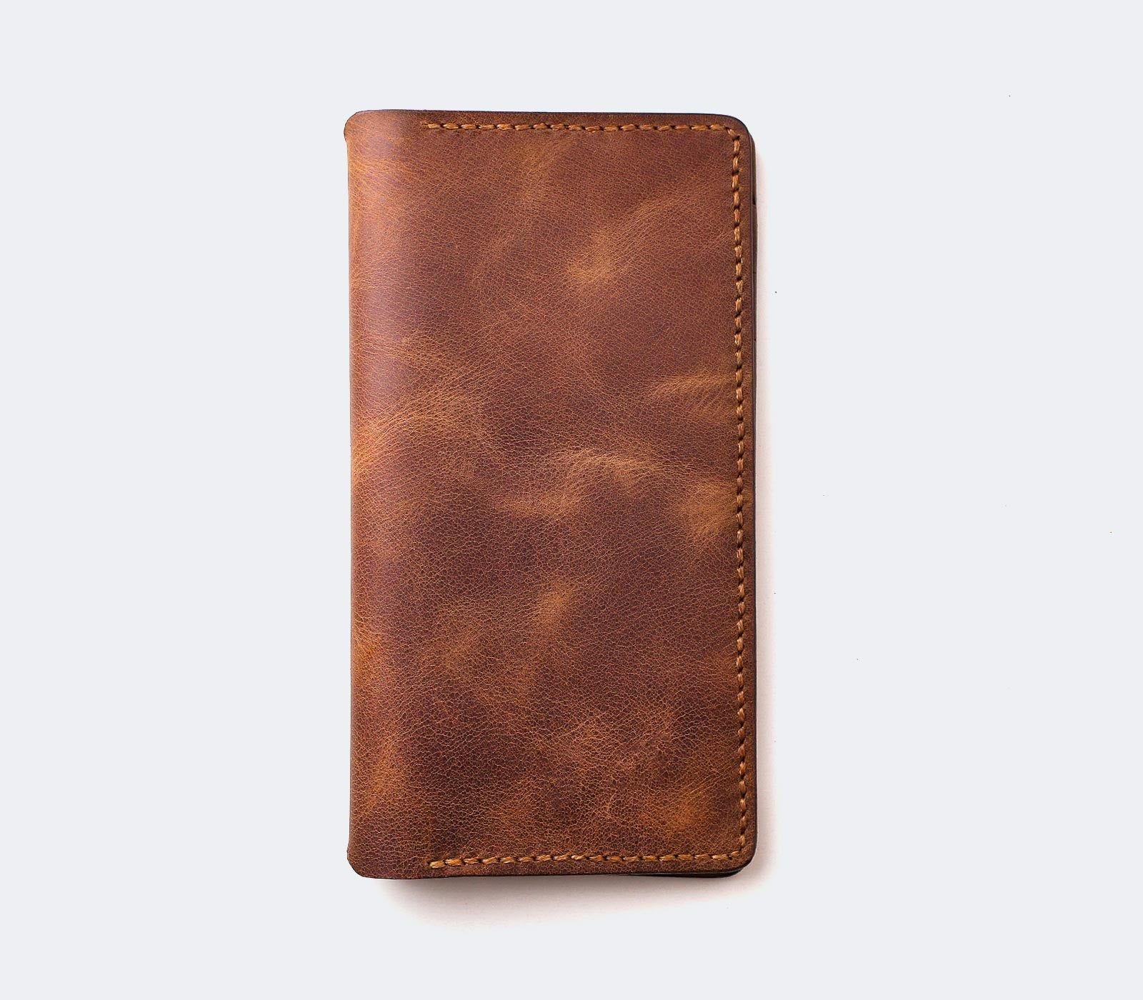 iPhone Leather Wallet Case - Tripolis