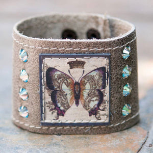 Royal Butterfly Cuff