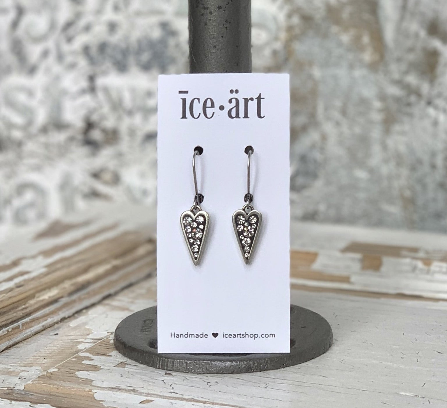 Heart Bling Earrings