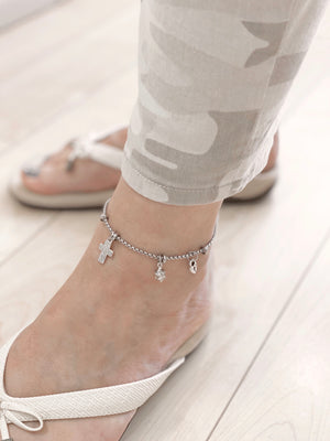 To the MOON and Back! Anklet