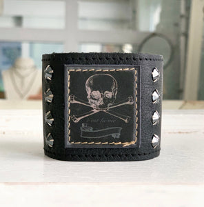 Midnight Skull Cuff