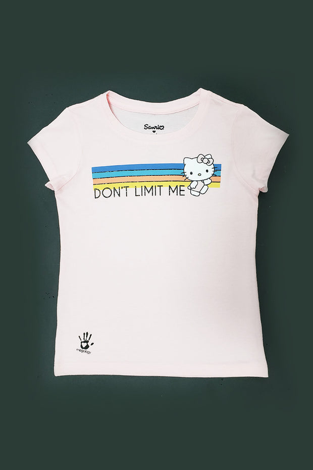 Sanrio x Megology Hello Kitty Kids Tee: Don't Limit Me