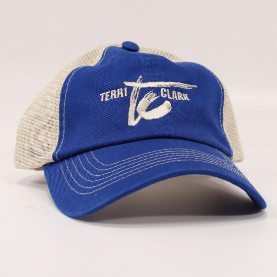 Blue TC Logo Hat
