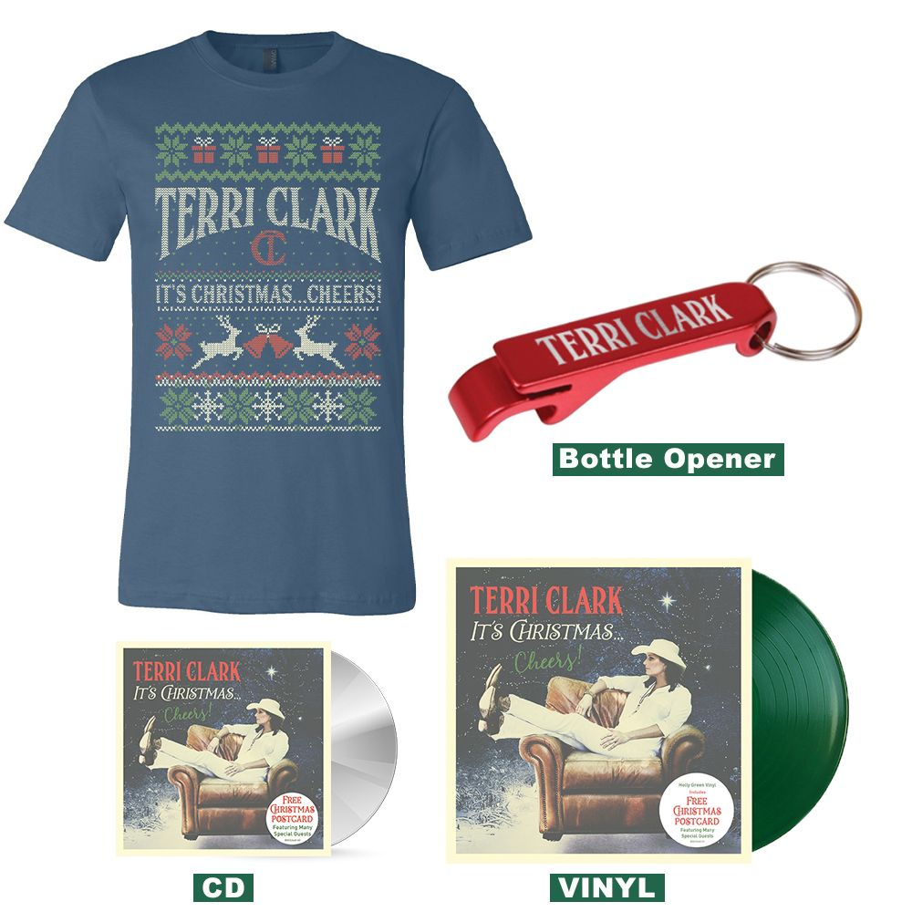 """It's Christmas…Cheers!"" T-shirt Bundle"
