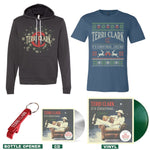 """It's Christmas…Cheers!"" Hoodie + T-shirt Bundle"