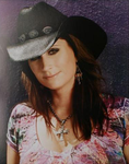 Terri Clark Purple Photo - 8x10