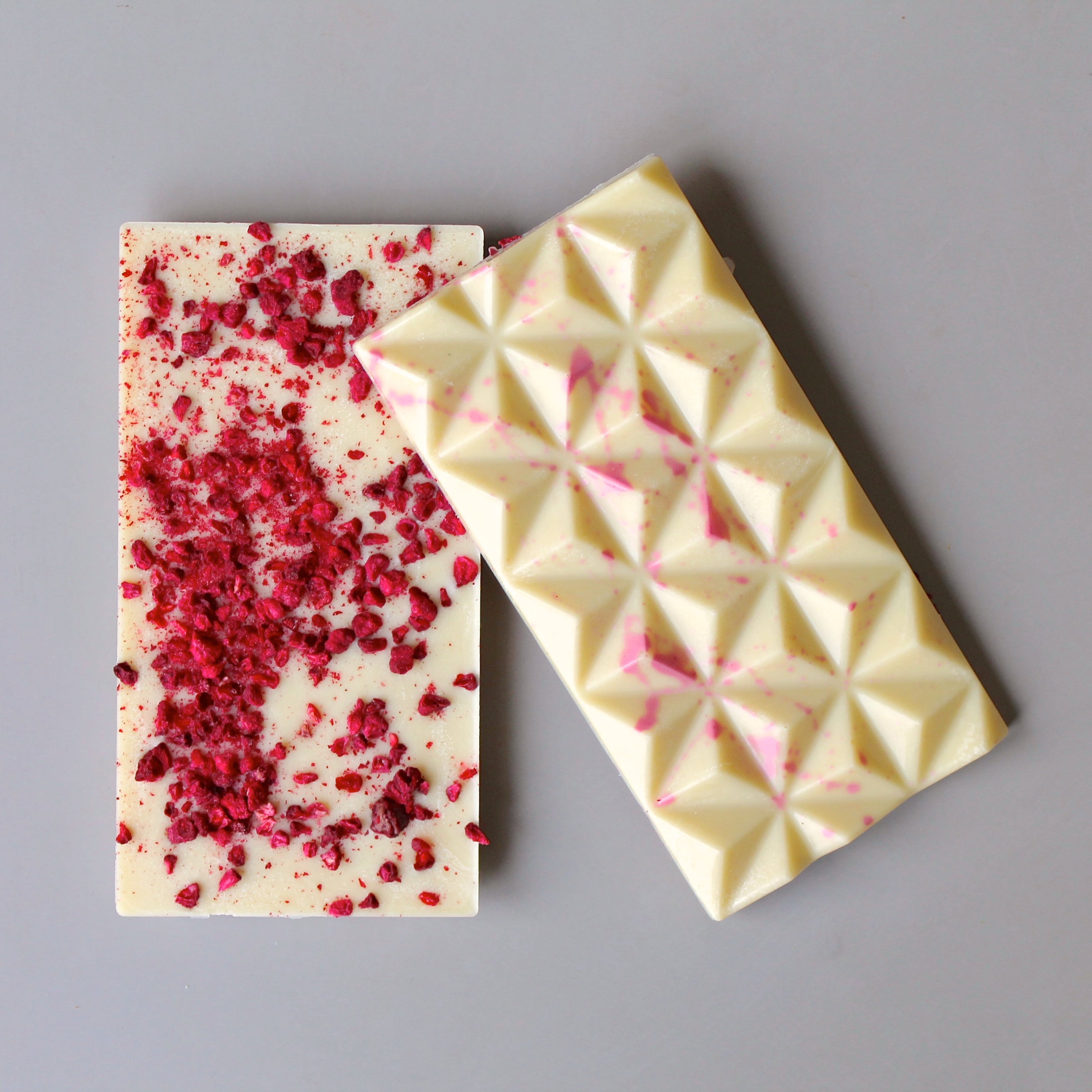 Vegan White Chocolate Raspberry