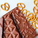 Vegan Salted Pretzel Bar