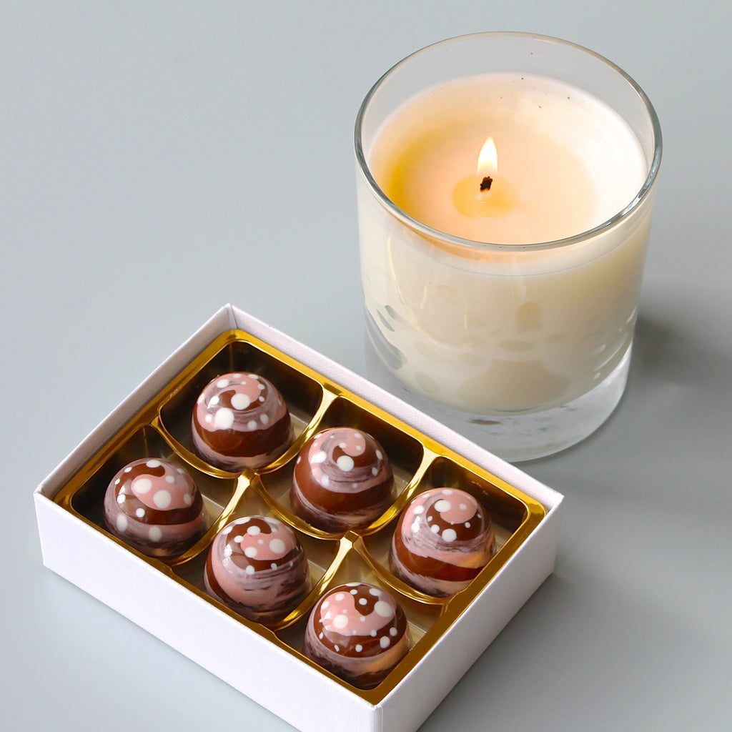 Cinnamon Bun Luxury Chocolates