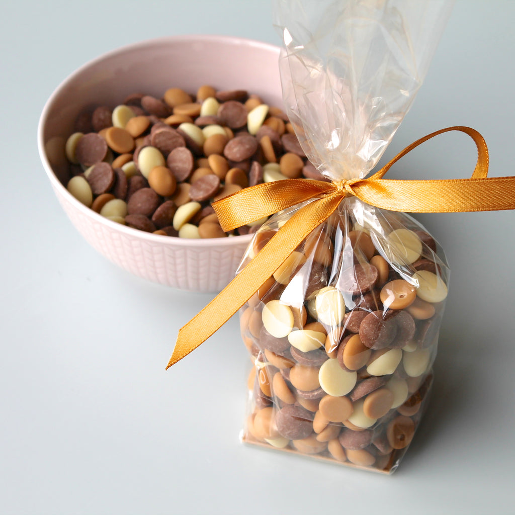 Mixed Chocolate Buttons - bag of 150g