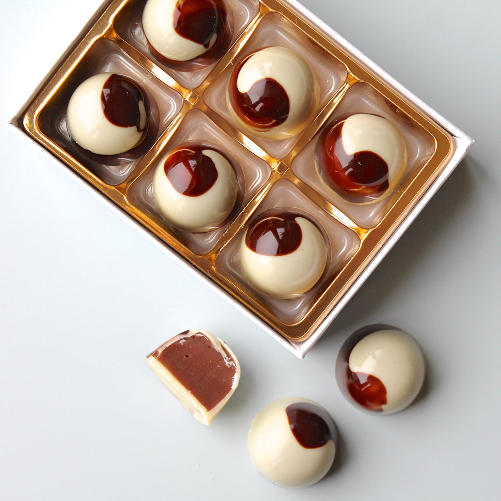 White Chocolate Nutella Bonbons