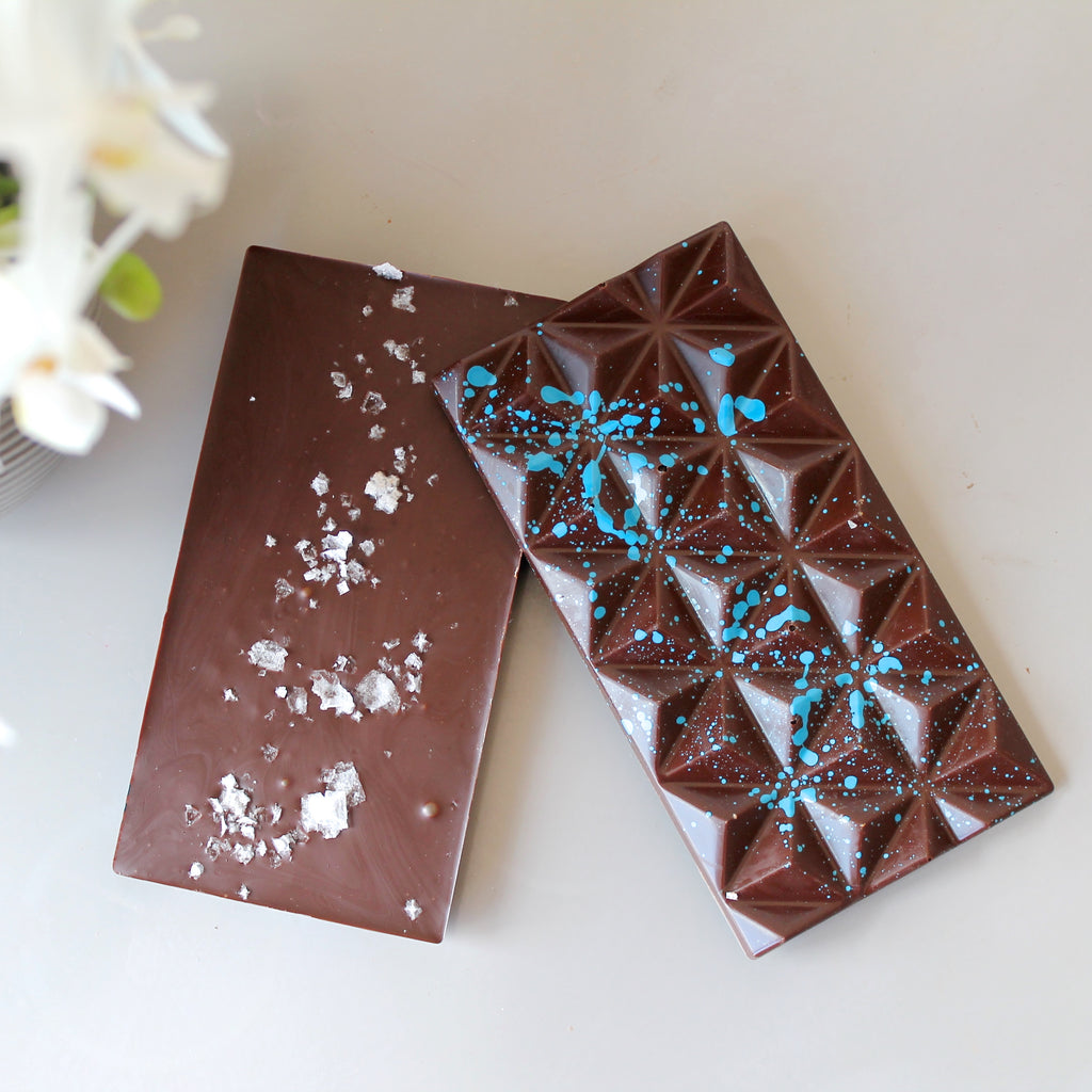 Dark Chocolate Sea Salt Chocolate Bar - Vegan