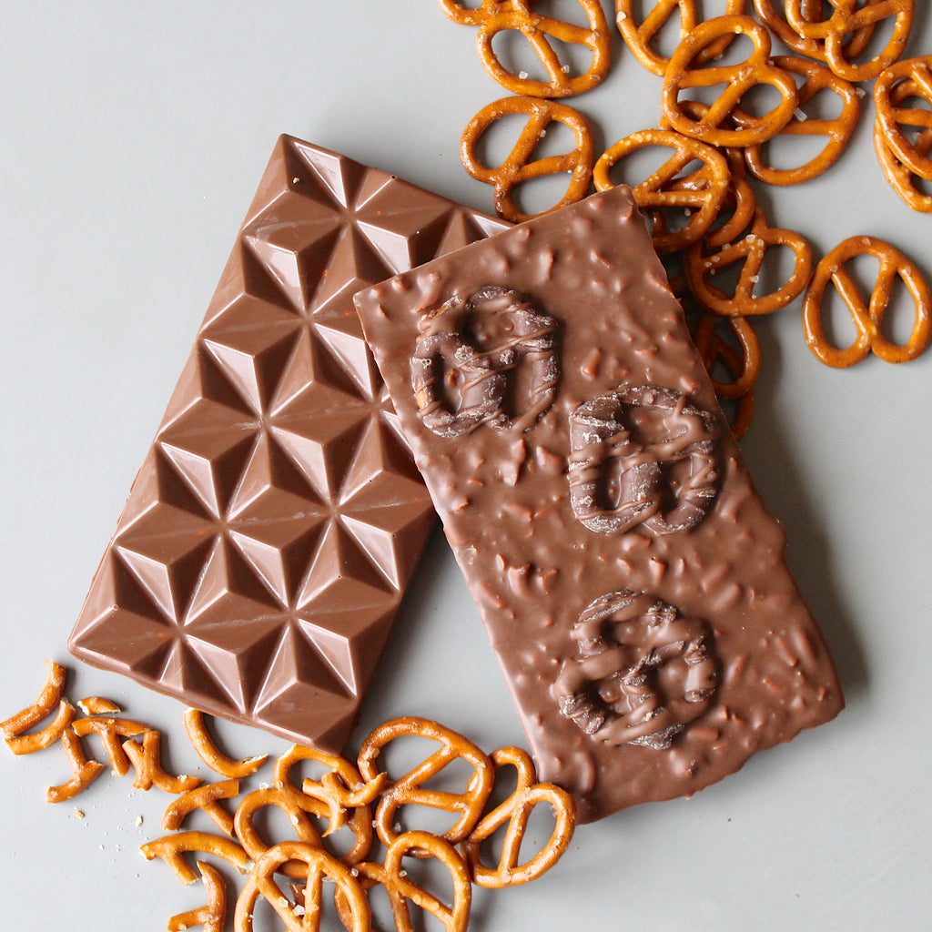 Salted Pretzel Milk Chocolate Bar
